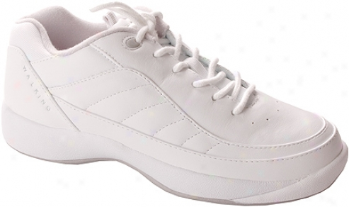 Easy Spirit Jumper (women's) - White/light Gray Leather