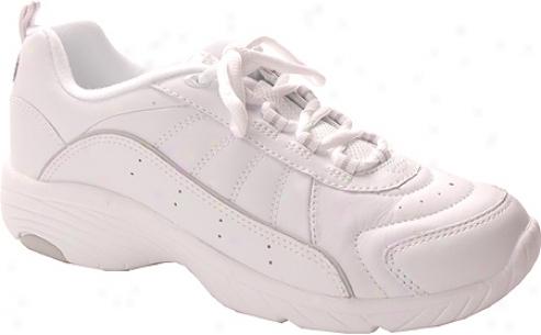 Easy Spirit Punter (women's) - White/light Gray Leather