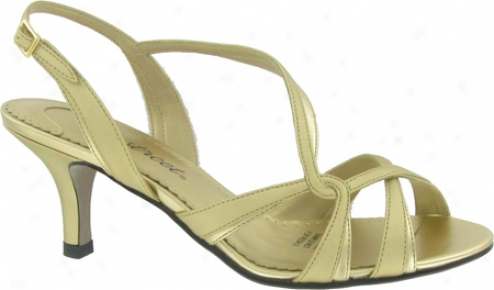 Easy Street Flirt (women's) - Gold Metallic