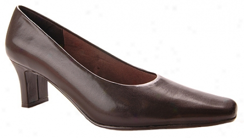 Easy Street Major (women's) - Dark Brown Kid Smooth