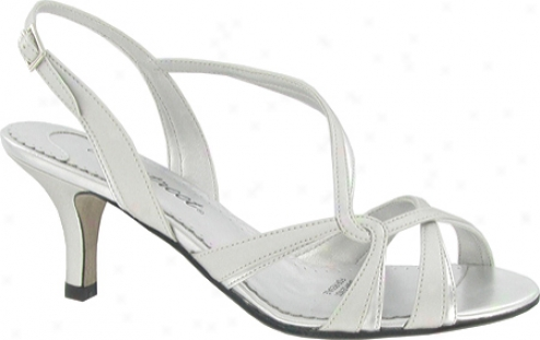 Easy Street Wink (women's) - Silver Smooth Satin/metallic