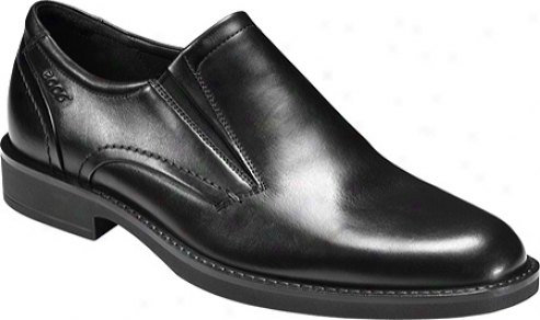 Ecco Biarritz Slip On (men's) - Black Oxford Leather
