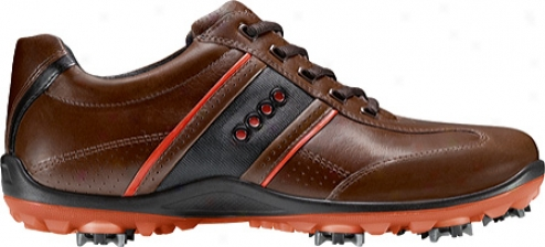 Ecco Accidental Cool Ii 150014 (men's) - Bison/fire/black Leather
