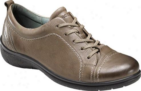 Ecco Clay Tie (women's) - Navajo Brown Old West Leather