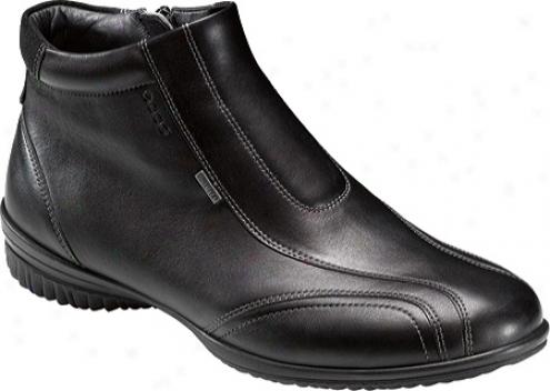 Ecco Cloud Ii Gtx Bootie (women's) - Black/black Luxe Leather/cayman Leather