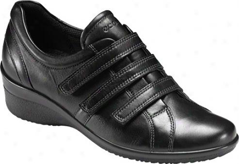 Ecco Corse 3 Strap (women's) - Black Bliss Leather