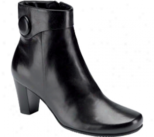 Ecco Hanna Boot (women's) - Black Leather