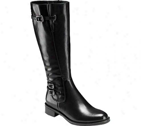 Ecco Hobart (women's) - Black Leather