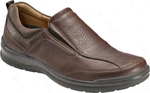 Ecco Secluded Slip On (men's) - Bison/cocoa Bron Rudo/oil Nubuck