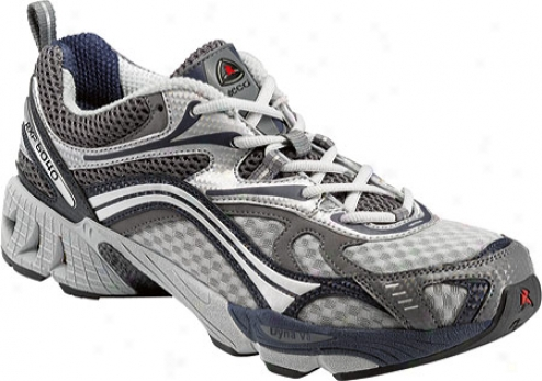 Ecco Rxp 6040 (men's) - Titanium/yrue Navy/concrete Synthetic/textile