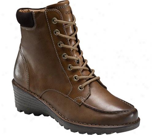 Ecco Sight Lace Boot (women's) - Walnut/coffee Olx West/gobi Leather