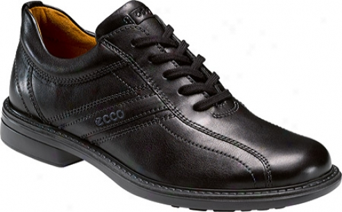 Ecco Turn Tie (men's) - Black Old West Leather