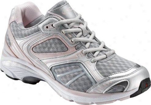 Ecco Xt 1010 (women's) - Silver/concrete/pale Lilac/textile/synthetic