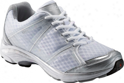 Ecco Xt 1011 (women's) - Silver/white/silver Synthetic/textile/synthetic