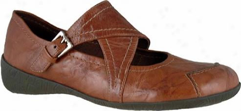 Elites Rena (women's) - Luggage Shrunken Waxy Leather
