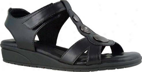 Elites Venice (women's) - Black Leather