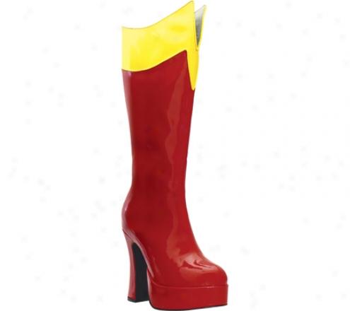 Ellie Cosmic-557 (women's) - Red/yellow
