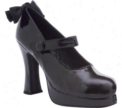 Ellie Glenda-425 (women's) - Black Patenf