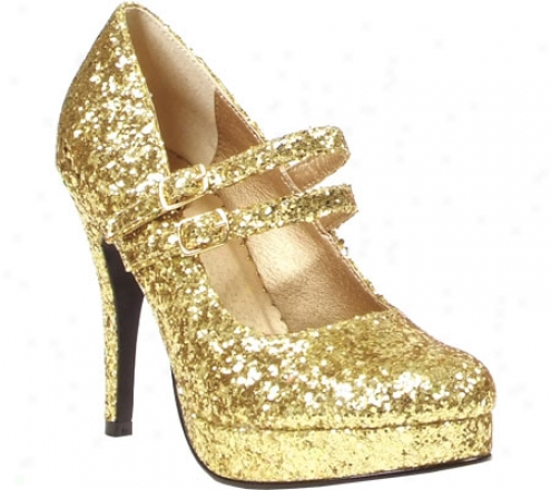 Ellie Jane-g-421 (women's) - Gold Glitter