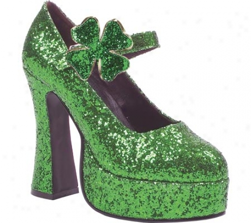 Ellie Lucky-557 (women's) - Green Glitter