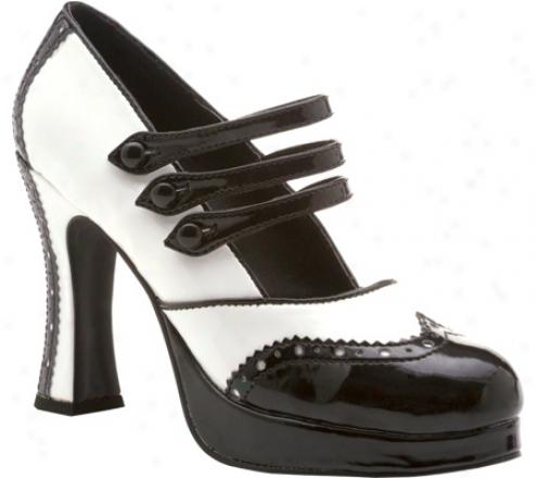 Ellie Maria-425 (women's) - Black/white