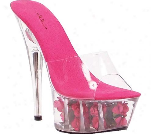 Ellie Roses-609 (women's) - Fuchsia Plastic