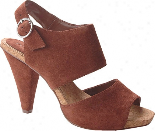 Enzo Angiolini Janah (women's) - Medium Brown Suede