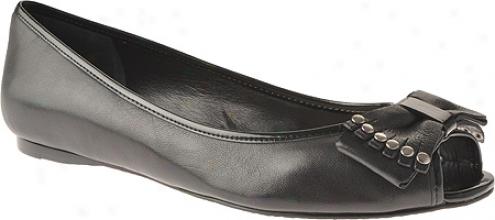 Enzo Angiolini Kissie (women's) - Black Leather