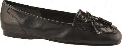 Enzo Angiolini Lizzia (women's) - Black/black Leather/patent