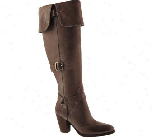 Enzo Angiolini Nate (women's) - Untaught Brown Leather