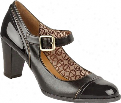 Etienne Aigner Questa (women's) - Chocolate Leather/patent