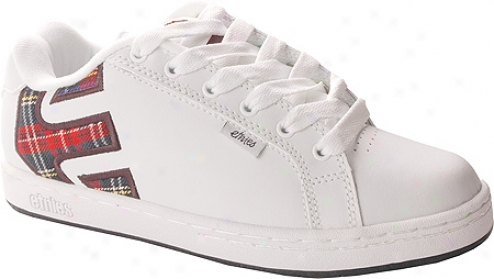 Etnies Fader (women's) - White Plaid