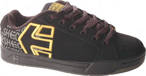 Etnies Kids Sheckkler 3 (infants') - Black/yellow/grey