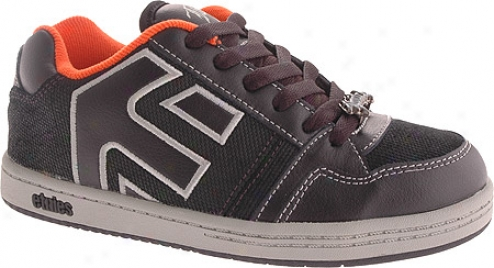 Etnies Kids Jerk 2 (infants') - Black/orange