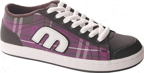 Etnies Lo-pro-baller (women's) - Black/purple
