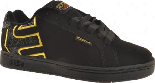 Etnies Rockstar Fader (men's) - Black/yellow/black