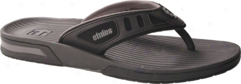 Etnies The Job Ii (men's) - Black/grey/black