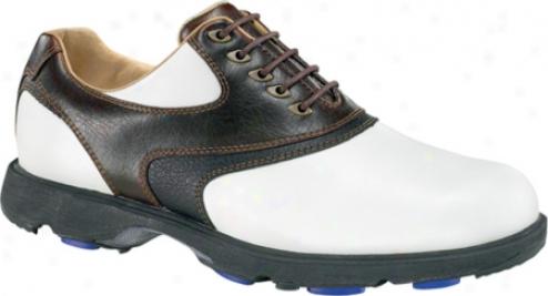 Etonic G Sok Classic Gsc105 (men's) - White/dark Brown/black