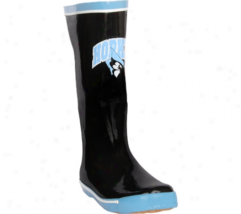 Fanshoes Johns Hopkins University Rubber Boot (women'ss) - Black