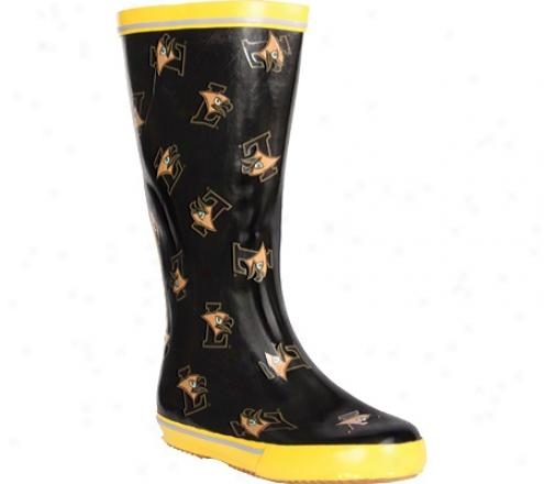 Fanshoes Lehigh University Rubber Boot (women's) - Black