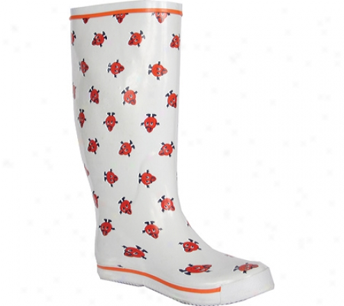 Fanshoes Syracuse University Ribber Boot (women's) - White