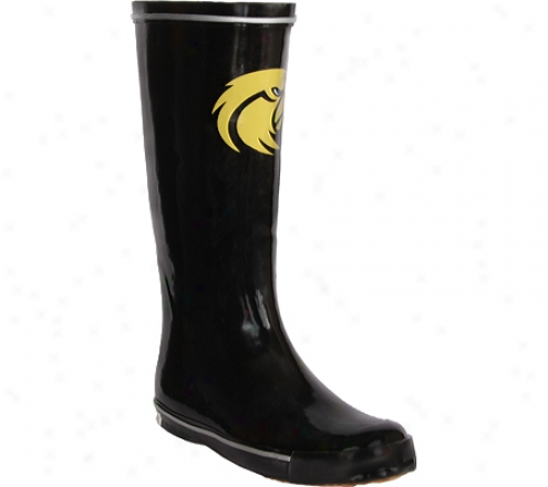 Fanshoes University Of Southern Mississippi Rubber Boot (women's) - Black