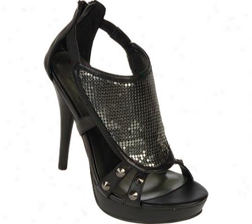 Fergie Footwear Kaper (women's) - Gunmetal Basto Leather