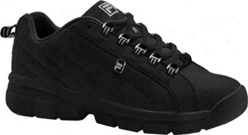 Fila Barter 2k10 (children's) - Black/black/metallic Silverr