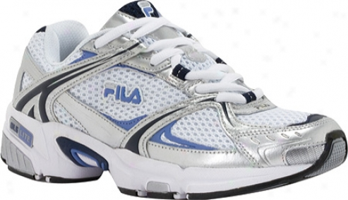 Fila Tytaneum (women's) - White/metallic Silver/estate Blue