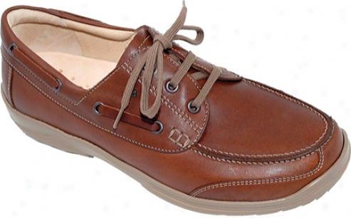 Finn Comfort Surfside (men's) - Brandy Leather