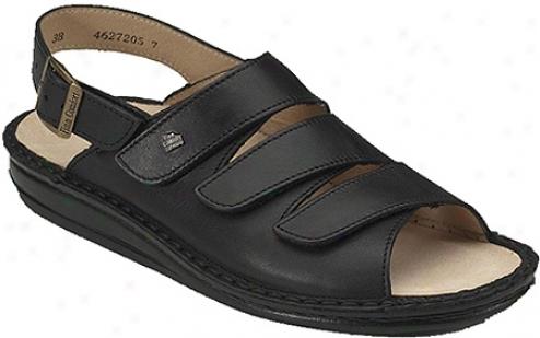 Finn Comfort Sylt Soft - Black