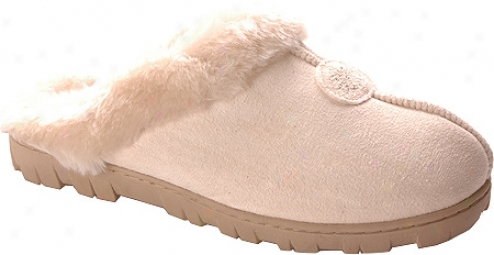 Fireside Casuals 15589 (2 Pairs) (women's) - Natural