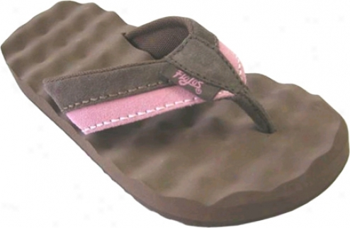 Flojos Xena (girls') - Brown/pink