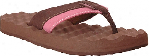 Flojos Xena (women's) - Brown/pink